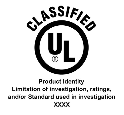 US Safety Classified mark