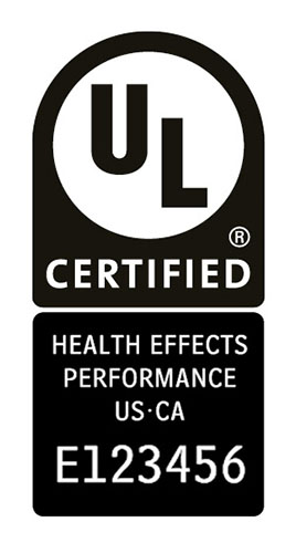 Water Health Performance mark