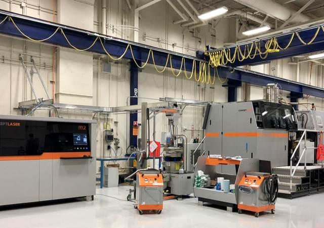 Lockheed Martin Space Additive & Design Manufacturing Center (ADMC) facility in Sunnyvale, CA
