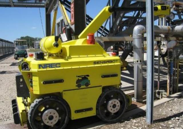 UL and Shell collaborate on a robot that performs inspections in the most challenging environments