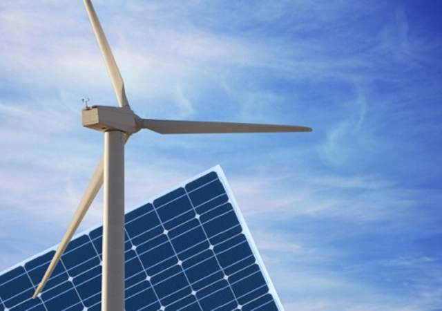 photovoltaic panel and wind mill ecologic energy production