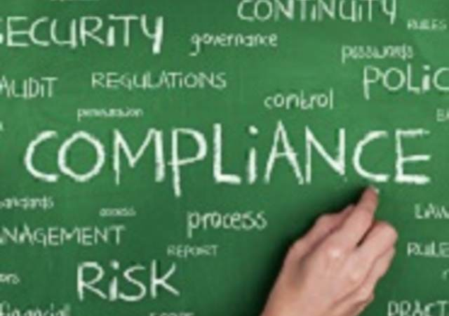 Compliance Word Cloud Concept