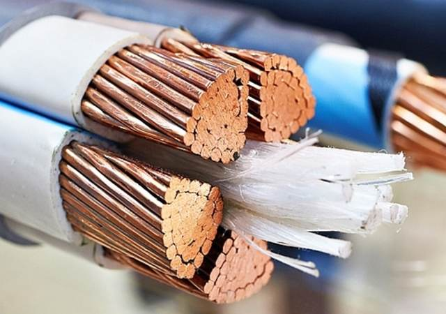 Unsheathed power cabling