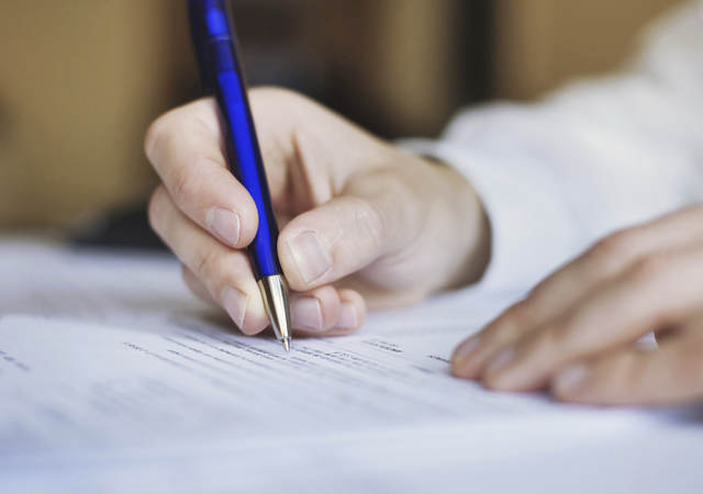 Sign-off on certification project