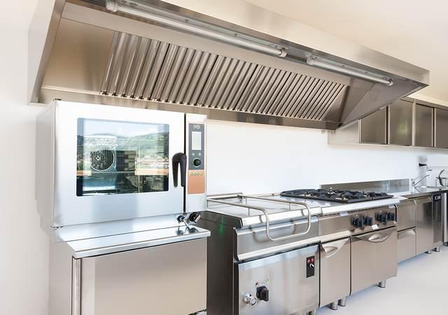 Industrial kitchen appliances