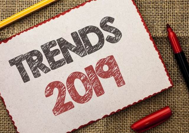 Trends 2019 sign