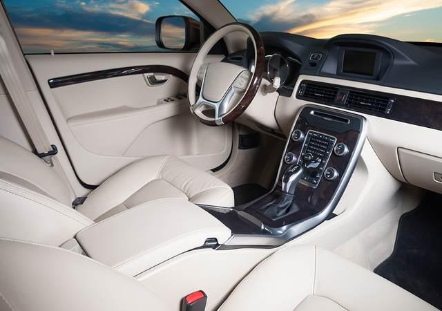 Inside of car
