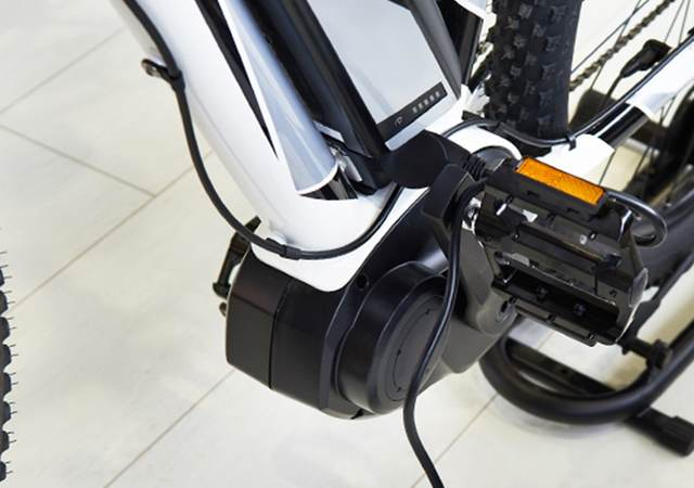 An electronic bike motor