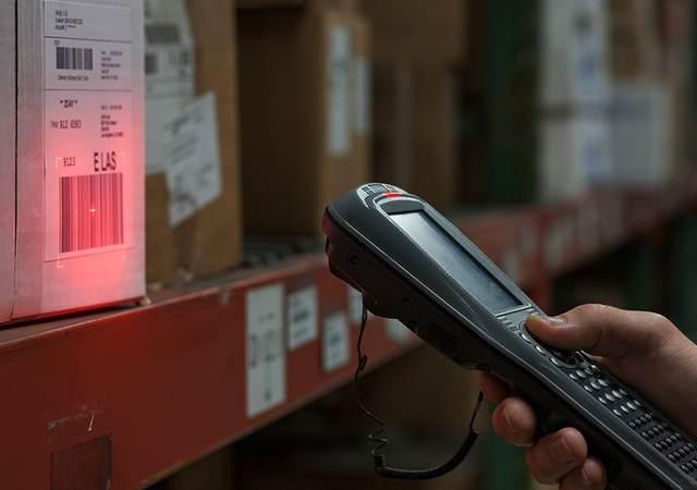 Laser scanning box barcode