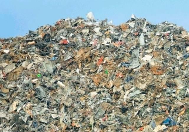 Recycling landfill