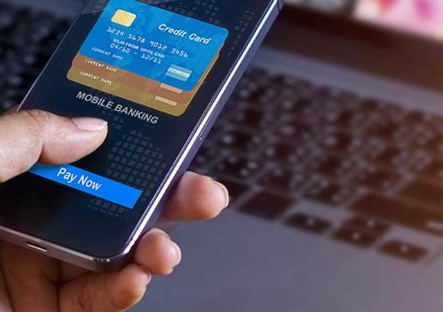 Online mobile banking