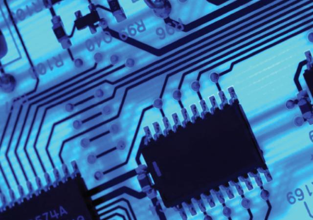 Circuit Board - backlit