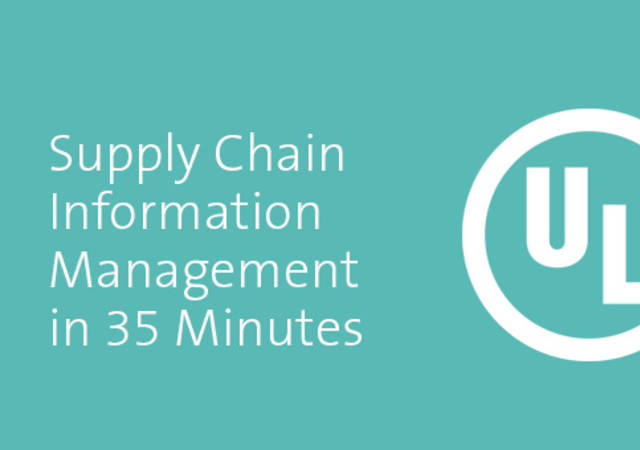 Supply Chain Information Management in 35 Minutes screenshot