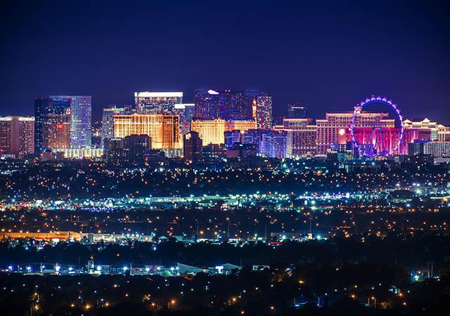 Skyline of Las Vegas
