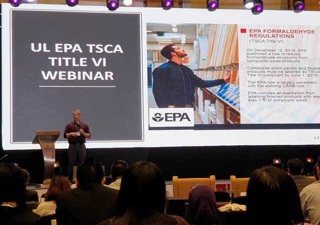 Mike O'Hara presenting at the MTC Conference in Malaysia