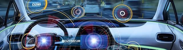 Driverless vehicle heads up display