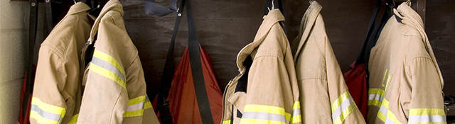PPE firefighter turnout gear