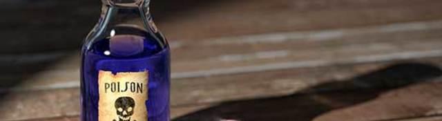 Poison bottle