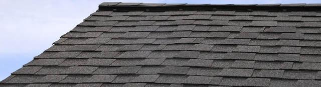 Photo of a shingled roof