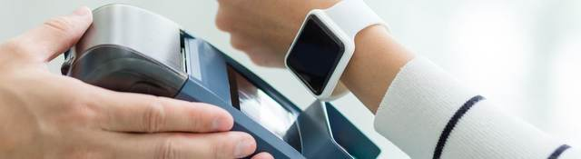 Cashless payment with watch