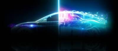 Stylized image of a car