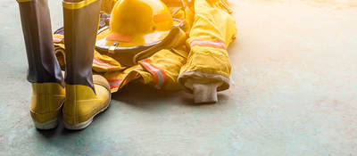 Personal protective fire equipment