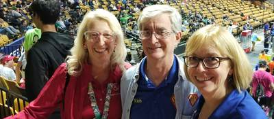 Elaine Wilder shares First Robotics with family