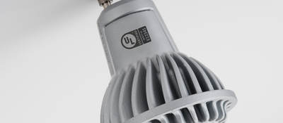 light fixture with UL mark
