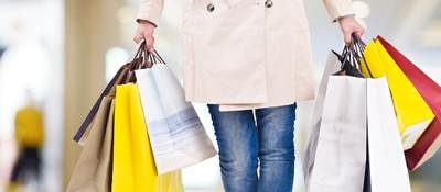 Photo of a woman shopping