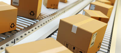 Sustainable packaging box line