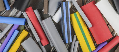 Recycled plastic cylinder shapes