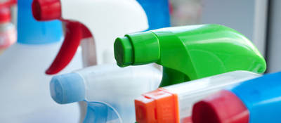 Sanitizing and household cleaning products