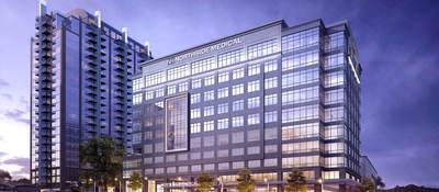 Exterior view of the Northside Medical Midtown building in Atlanta, Georgia