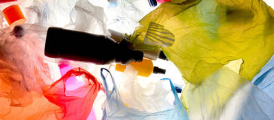 Plastic waste that once collected and processed can be made part of the circular economy