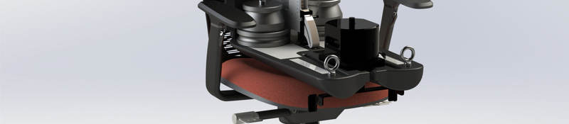 ISO 24496 chair measuring device in an office chair