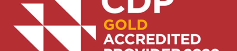 CDP Gold Accredited Provider logo