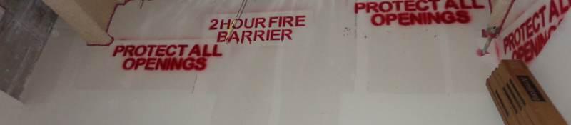 Firestopping wall sealant