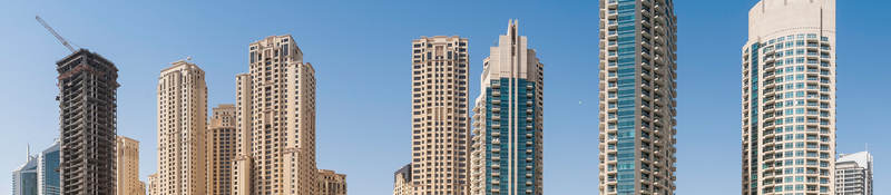 High-rise buildings in Dubai