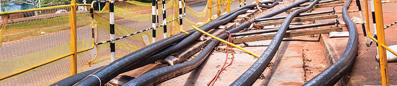 photo of high voltage cable
