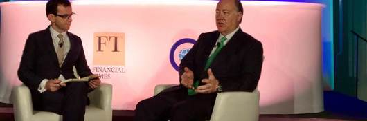 Keith Williams, CEO, UL, discusses new technology at the 2018 Chicago Forum on Global Cities, Bill Hoffman discusses sustainability on the carbon panel at the Chicago Forum on Global Cities