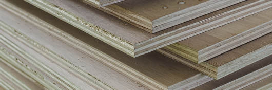 Plywood with potential formaldehyde emissions