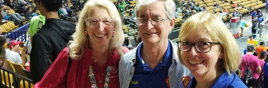 Elaine Wilder shares First Robotics with family