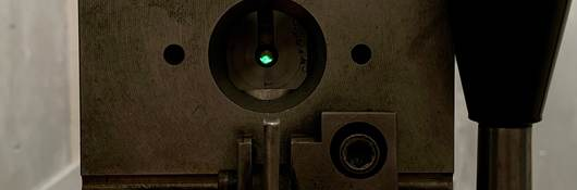 Unidentified piece of ballistics testing equipment
