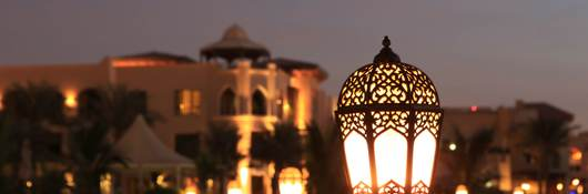 Arabesque Lantern at Night