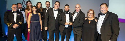 UL wins the Inspire19 Large Business of the Year Award