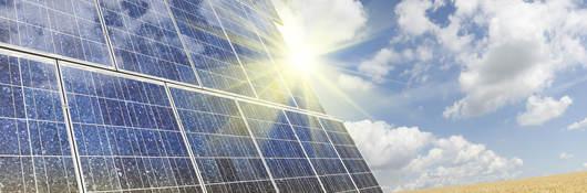 Solar Panels Up Close