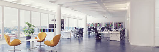 Open office interior