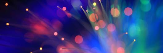 blurred light neon