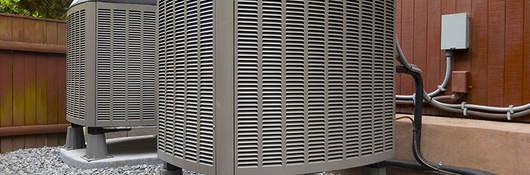 Residential HVAC Unit.
