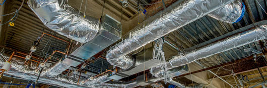 Photo of fire rated air ducts